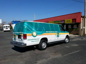 Motel vehicle wraps charlotte