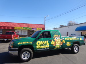 roofing vehicle wraps charlotte nc