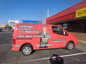 realestate vehicle wraps charlotte nc