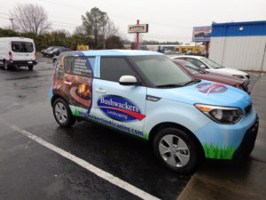 Food Trailer vehicle wraps charlotte nc