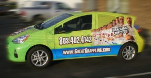 karate vehicle wraps charlotte nc