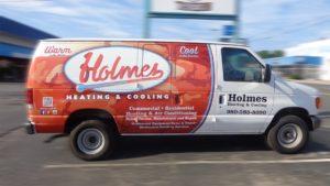 HVAC vehicle wraps charlotte nc