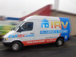 Sprinter Van vehicle wraps charlotte nc