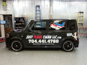 Nissan Cube vehicle wraps charlotte nc