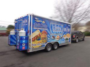 restaurant trailer vehicle wraps charlotte nc