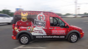 restaurant vehicle wrap charlotte