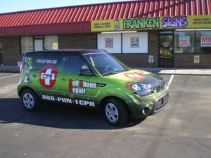 Scion vehicle wraps