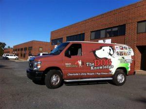 dog training vehicle wraps charlotte nc