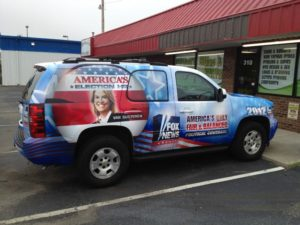 Fox News vehicle wraps charlotte nc