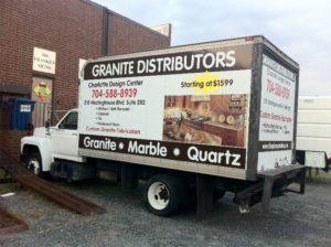 box Truck wraps charlotte nc