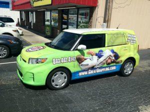 karate vehicle wraps charlotte nc