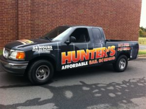 Bail Bonds vehicle wraps charlotte nc
