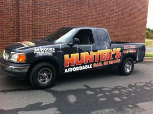 Bail Bonds vehicle wraps charlotte nc