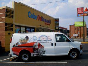 car wash vehicle wraps charlotte nc