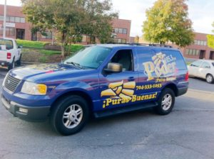 Radio Station vehicle wraps charlotte nc