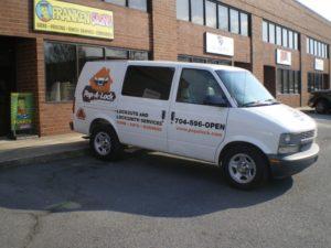 Chevy van wraps charlotte nc