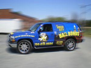 bail bond vehicle wraps charlotte nc