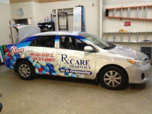 Pharmacy vehicle wraps charlotte nc