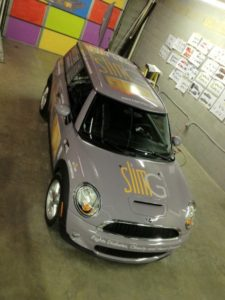 mini cooper vehicle wraps charlotte nc