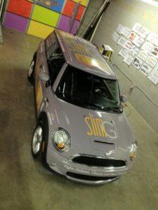 mini cooper vehicle wraps charlotte nc