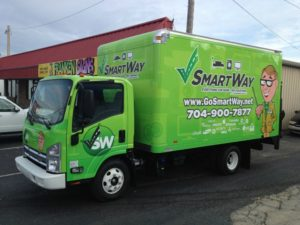 delivery vehicle vehicle wraps charlotte nc
