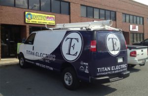 electric company vehicle wraps charlotte nc