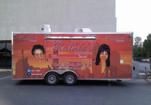 Food Trailer vehicle wraps charlotte nc