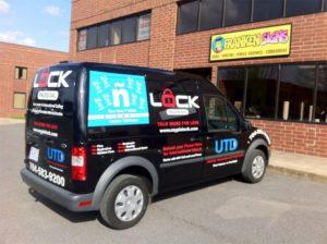 lock and key vehicle wraps charlotte nc