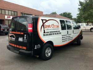 handy man vehicle wraps charlotte nc