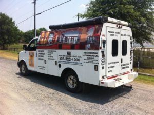 plumbing vehicle wraps charlotte nc