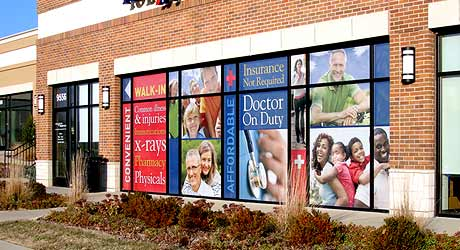 Store Front Signage Charlotte Nc Kranken Signs Vehicle Wraps