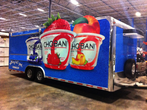 restaurants trailer wraps and food truck wraps