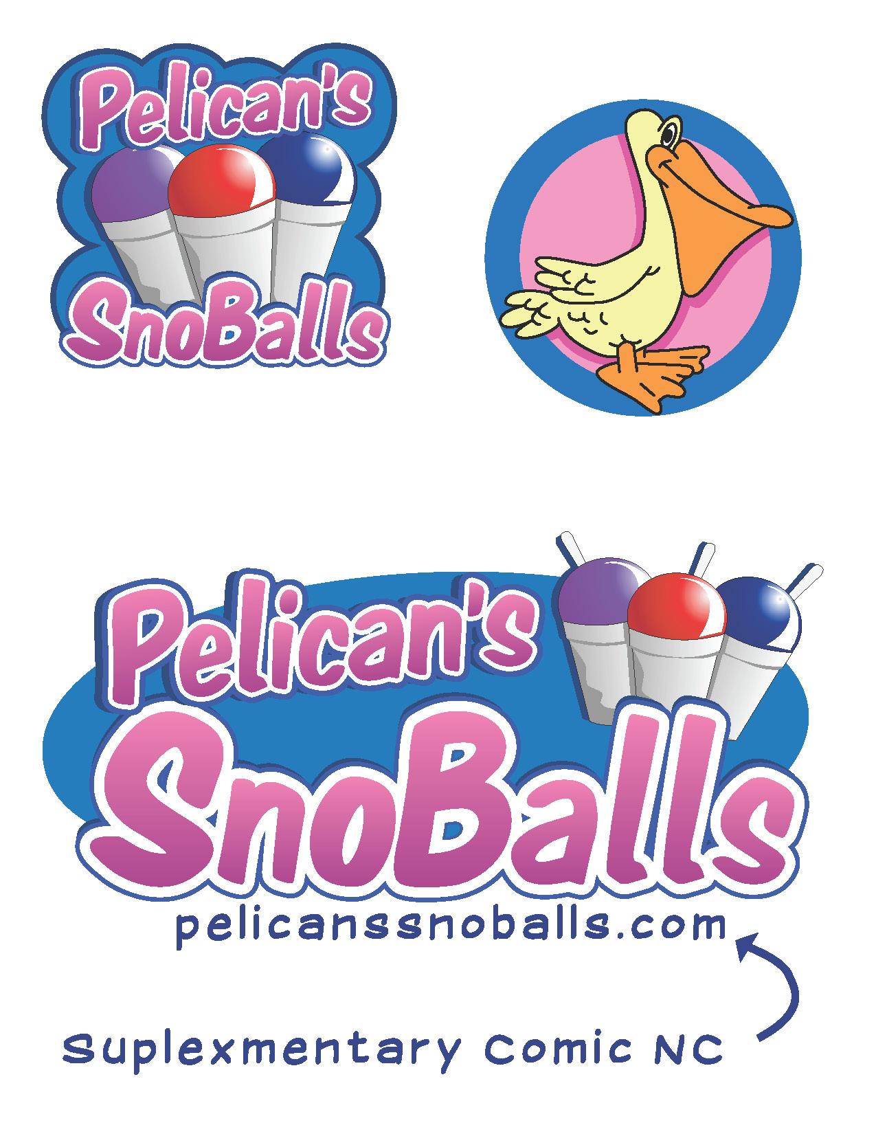 Pelican SnoBalls Art