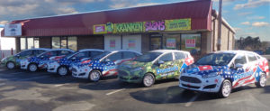 nationwide vehicle wrap installation