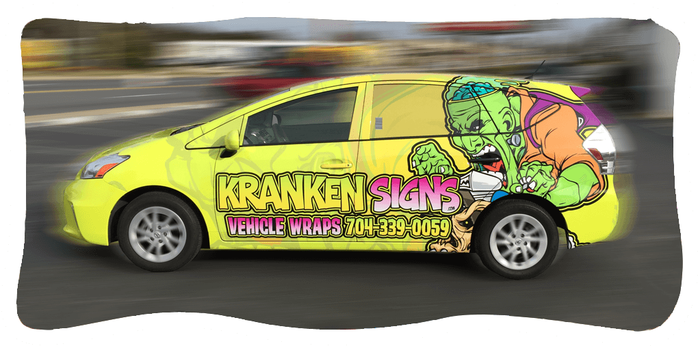 Kranken Signs Vehicle Wraps 704-339-0059
